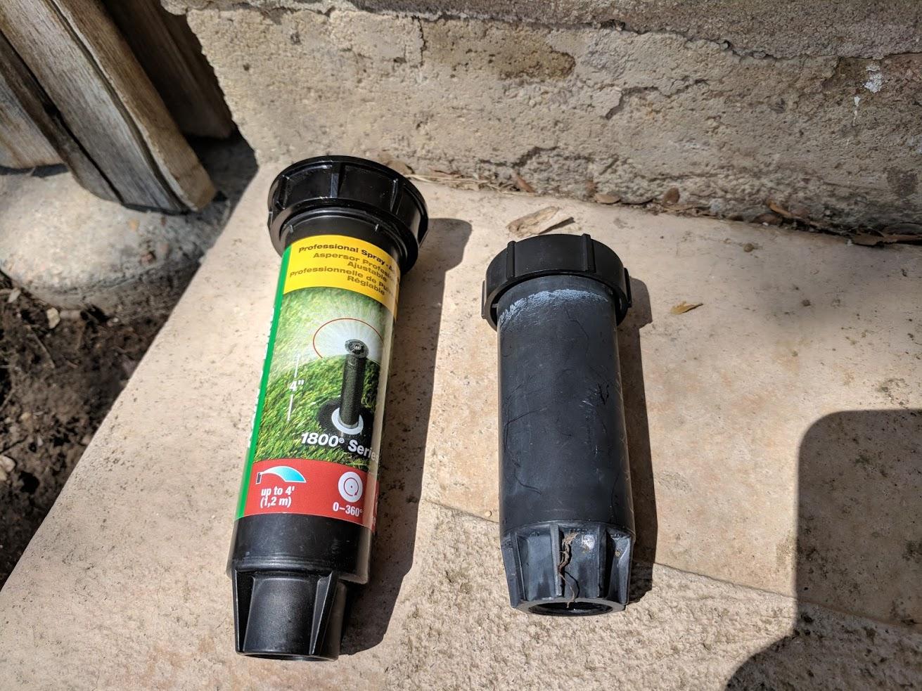 How To Replace A Broken Sprinkler Head - DIY Insiders